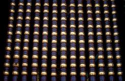 金黄柱子 图库摄影