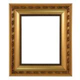 金黄框架 库存照片