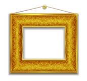 金画框 图库摄影