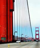 金黄桥梁的门 弗朗西斯科・圣 图库摄影