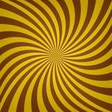 金黄棕色旋转背景 免版税图库摄影
