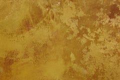 金黄棕色纹理背景帆布 复制空间 库存照片