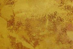 金黄棕色纹理背景帆布 复制空间 免版税库存照片
