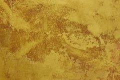 金黄棕色纹理背景帆布 复制空间 库存图片