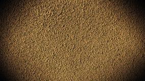金黄水泥的墙壁 库存照片