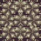 金黄漩涡标志 向量例证