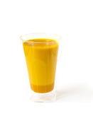 金黄牛奶 免版税库存图片