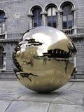 金黄球形三一学院 库存照片