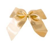 金黄的弓 免版税图库摄影