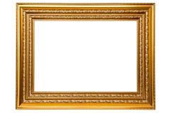 金黄的框架 库存图片