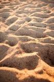 金黄轻的沙子 免版税库存图片