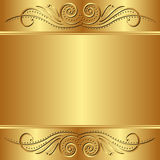 金黄的背景 库存图片