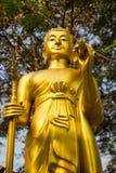 金黄的菩萨 库存图片