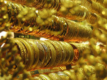 金黄的镯子 免版税图库摄影