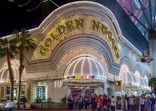 金黄矿块旅馆和赌博娱乐场 免版税库存照片