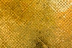 金黄纹理和背景 免版税库存图片