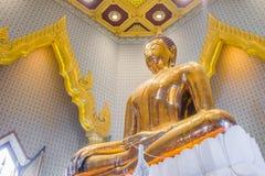 金黄菩萨, Wat Traimit (曼谷,泰国) 免版税库存图片