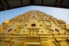 金黄菩萨Kaya塔在泰国 库存图片