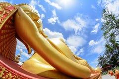 金黄菩萨Pha Luang 库存照片