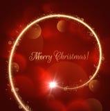 金黄螺旋圣诞节背景 eps10开花橙色模式缝制的rac ric缝的镶边修整向量墙纸黄色 库存图片