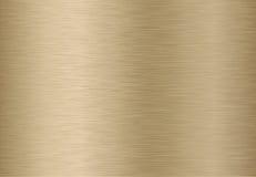 金黄金属纹理 库存照片