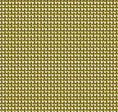 金黄铁丝网无缝的样式 库存照片