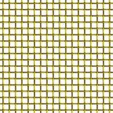金黄铁丝网无缝的样式 免版税库存照片