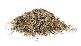 金黄锡兰茶叶堆  库存照片