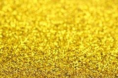 金黄闪烁 免版税库存图片