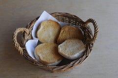 金黄面包BALLS_krydder boller 免版税库存图片