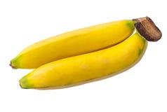 金黄香蕉-新鲜水果 库存照片
