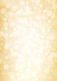 金黄defocused光背景 向量例证