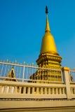金黄stupa市呵叻 泰国 免版税图库摄影
