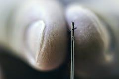 针、螺纹和视域 库存图片