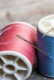 针和缝合针线 库存图片