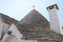 针对性的石屋顶 免版税库存图片