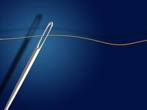 针线程数 库存例证