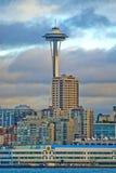 针西雅图空间 免版税库存照片