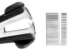钉书针去膜剂和钉书针 免版税库存图片