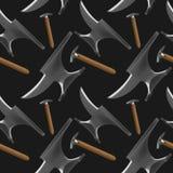 钉马掌铁匠工具样式 向量例证