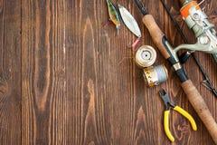 钓具和捕鱼装置 图库摄影