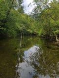 钓鱼与石弓 免版税库存图片