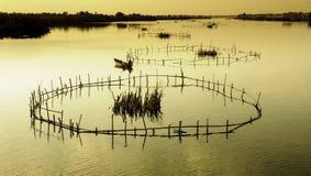 Hoi-an湖,越南9 库存图片