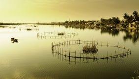 Hoi-an湖,越南10 免版税图库摄影