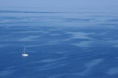 钓鱼地中海净海运金枪鱼的偏差 撒丁岛(意大利) 免版税图库摄影