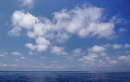 钓鱼地中海净海运金枪鱼的偏差 免版税图库摄影