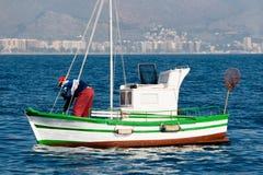 钓鱼地中海 免版税库存图片