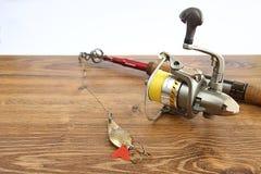 钓鱼多数passtime普遍的卷轴标尺世界 免版税库存照片