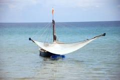 钓鱼小泰国的小船 免版税库存照片