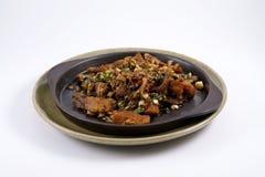 钓鱼泰国油煎的辣的样式 免版税库存图片